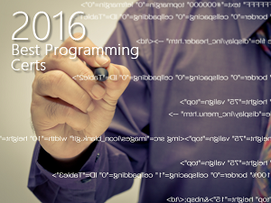 Best Computer Programming Certifications For 2016
